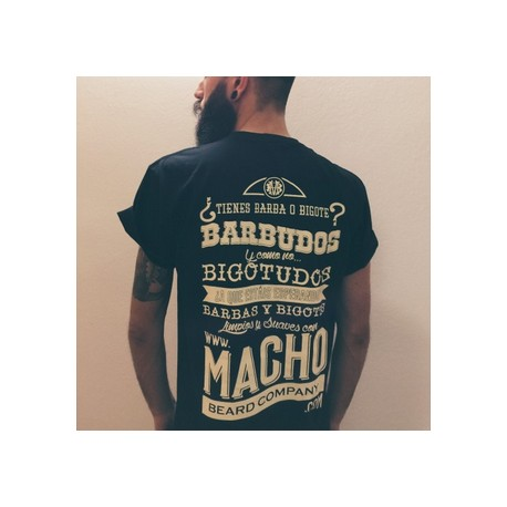 Camiseta macho para hipsters barbudos