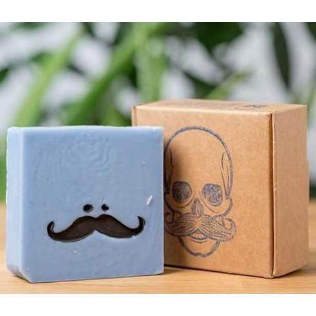 Jabón para barba canosa SKULLSOAP nº2.