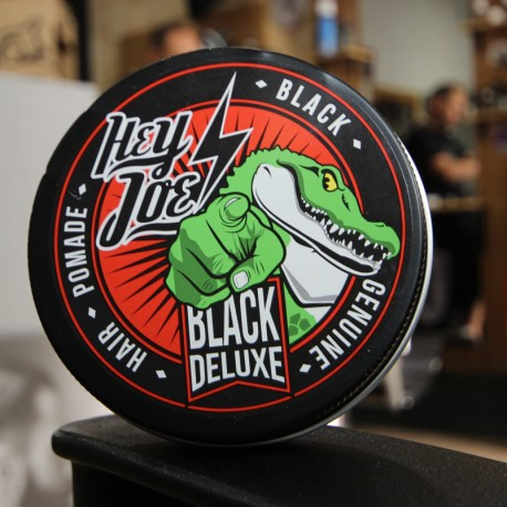 Hey Joe! Genuine Hair Pomade Black Deluxe 100ml