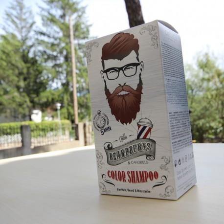 Champú de Color Beardburys Castaño Oscuro