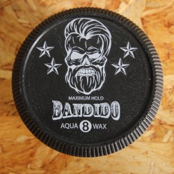 Bandido Maximum Hold Aqua Wax Black 8