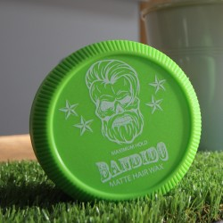 Bandido Maximum Hold Aqua Wax green