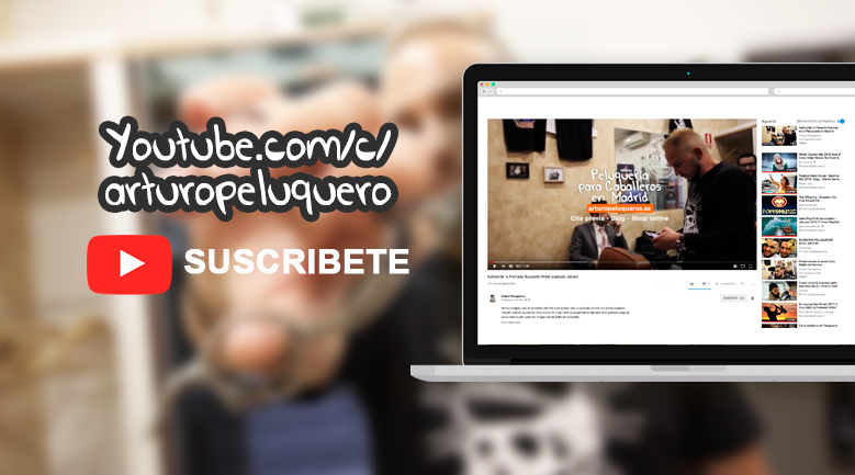 canal youtube arturo peluqueros