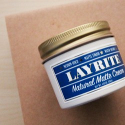Natural Matte Cream Layrite 120g