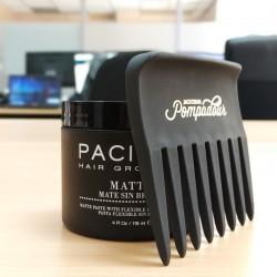 Pack Peine Pompadour con Pacinos Matte